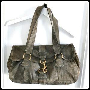 Miu Miu distressed leather bag